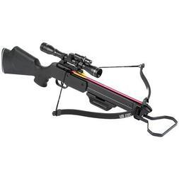 150 lb Black Hunting Crossbow Archery Bow + 7 Arrows / Bolts