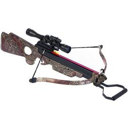 150 lb Camouflage Hunting Crossbow Archery Bow +7 Arrows / B