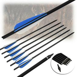16/17/18/20/22 inch Crossbow Bolts Carbon Shaft Arrows Arche