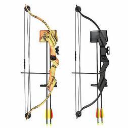 17-21 lb Black / Camouflage Camo Archery Hunting Compound Bo