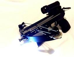 60 lbs MANTIS pistol crossbow with rechargeable tactical lig