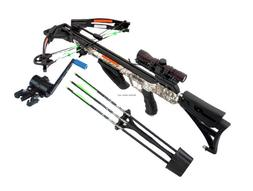 SA Sports 611 Empire Beowulf 175-lb Compound Crossbow Packag