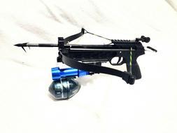 80 lbs Mongoose fishing crossbow with 11 inch fishing arrow+