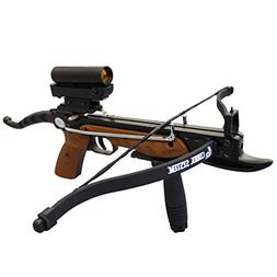 Prophecy 80 Pound Aluminum Self-cocking Pistol Crossbow With