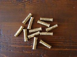 GOLD TIP ARCHERY BRASS INSERTS 85 grain 12 pack crossbow bol