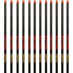 Gold Tip Arrows Hunter 300 340 400 500 1 Dozen Black Shafts