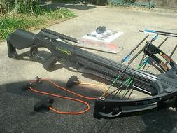 BARNETT Wildcat C6 CROSSBOW WITH RED DOT Scope 12 Arrows Dra