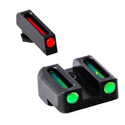 TRUGLO Brite-Site Fiber-Optic Handgun Sight, Glock 42 Set