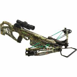 PSE Camo Fang 350 fps LT Crossbow Package