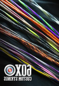 "Ten Point Vapor Crossbow String 37.125"" by 60X Custom String"
