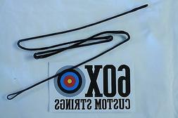 60X Custom Strings D97 Compound Bowstring Black Choice of Le