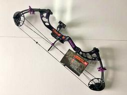 PSE FEVER PURPLE RAIN 8-60LB. CUSTOM RTS PACKAGE 11 TO 29""