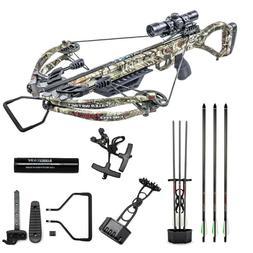 Killer Instinct Hero 380 Crossbow Pro Package 380 fps 185lbs