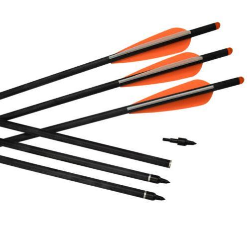 12x Bolts Screw Archery New