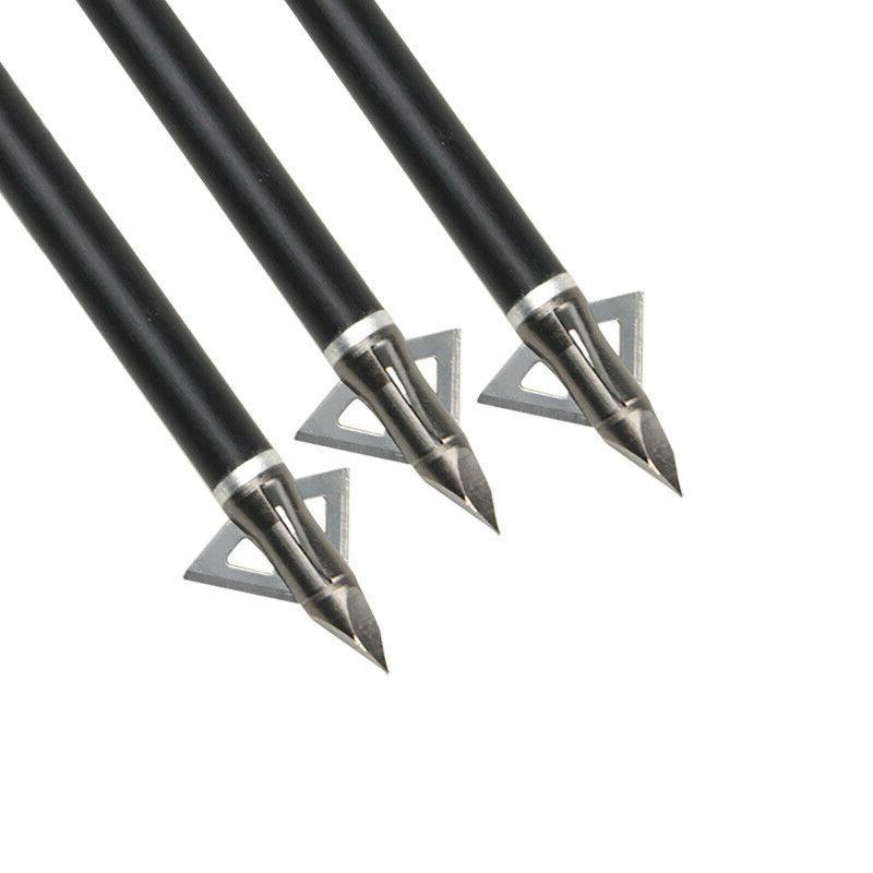 Archery Arrowhead Grain Arrow Tips Points Bow Crossbow