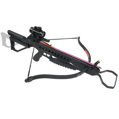 175 lb Black Hunting Crossbow Archery Bow +7 Arrows / Bolts