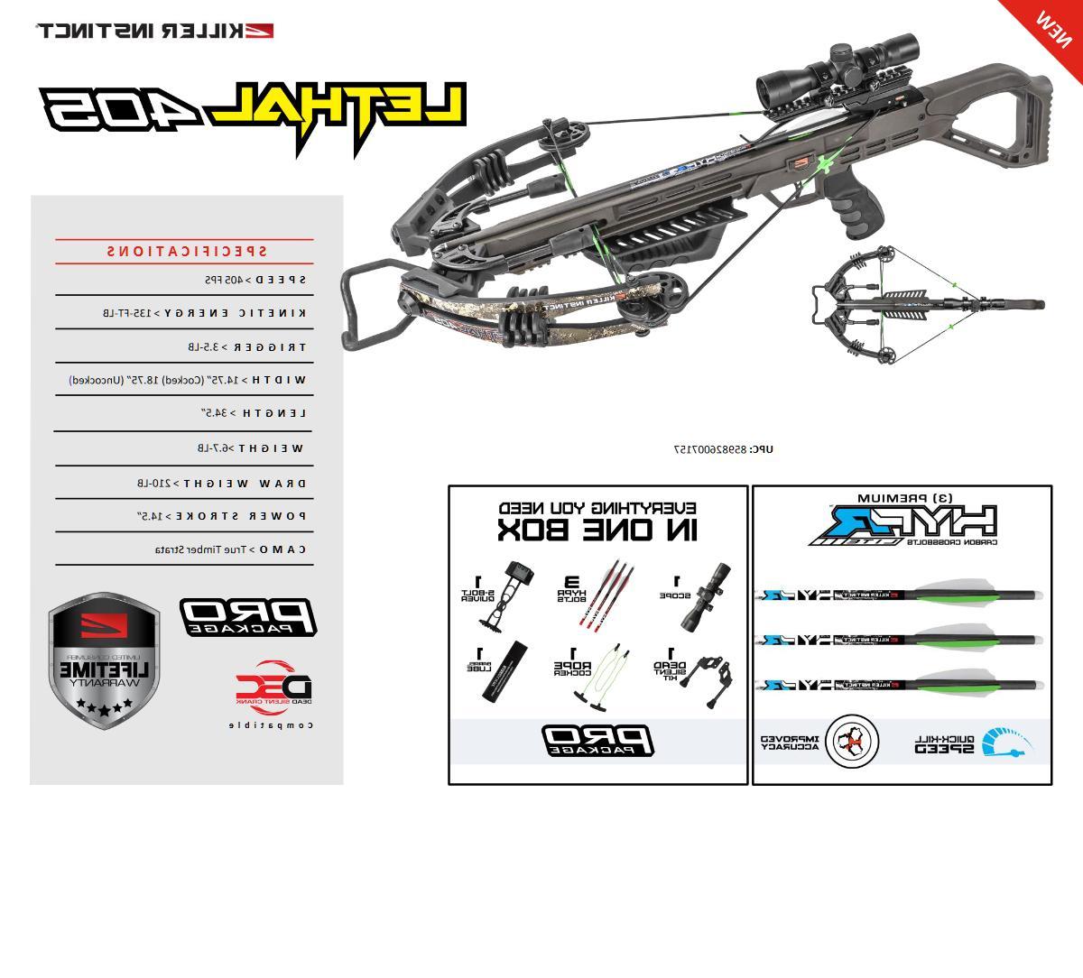 new 2020 lethal 405 illuminated 4x32 scope