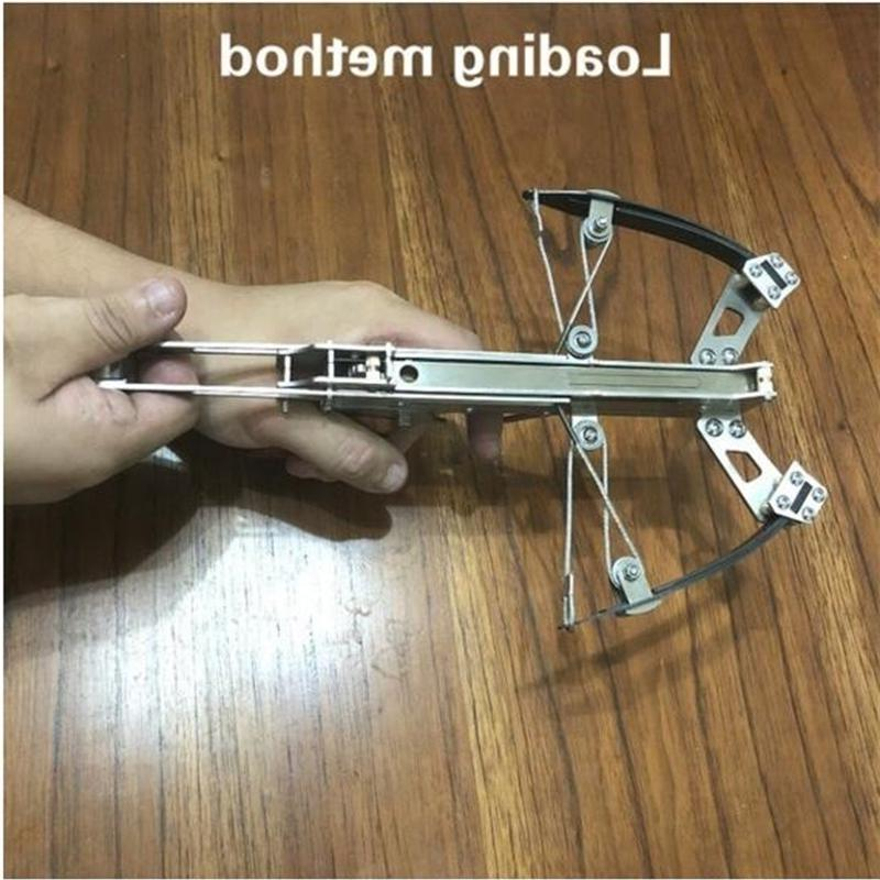 Powerful Mini Crossbow Stainless Steel Shooting