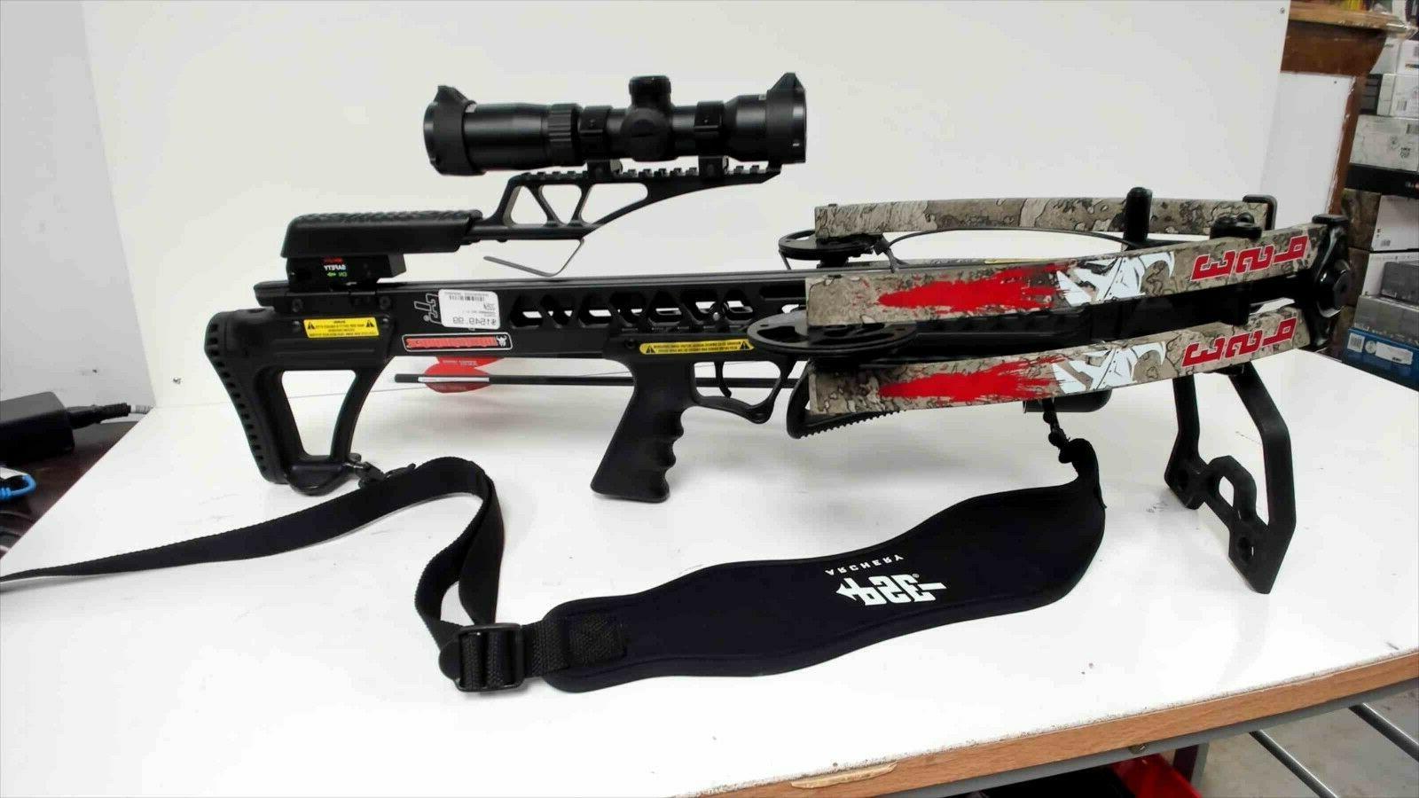 warhammer crossbow black 400fps