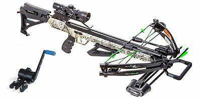 x force piledriver 390 crossbow with crank