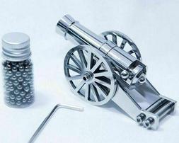 Mini Napoleon Cannon Metal Naval Artillery Stainless Model K