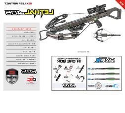 New 2020 Killer Instinct Lethal 405 4x32 Scope Crossbow Pack