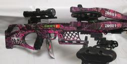 NEW PSE Fang LT Pink Muddy Girl Moonshine Camo Fang Crossbow