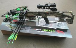 NEW PSE Fang XT Crossbow package Mossy Oak COUNTRY 350 fps F