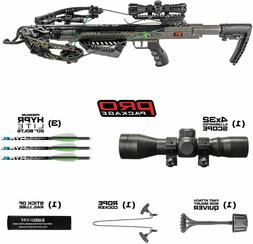 New Killer Instinct RUSH 380 Illuminated 4x32 Scope Crossbow