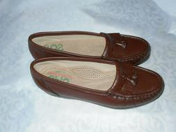SAS NWOB Women Size 4.5 Shoes NEW Leather Loafers Tassel Bro