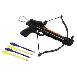 50 lb Pistol Hunting Archery Crossbow bow + 5 Bolts / Arrows
