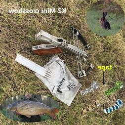 Powerful Mini Crossbow Stainless Steel Shooting Toy Fire Arr