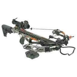 PSE Fang HD Crossbow Package 405 FPS with Quiver and Arrows