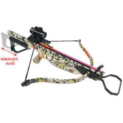 175 lb Vista Camouflage Hunting Crossbow Bow +7 Arrows +Stri