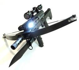 WT4 TACTICAL CROSSBOW BAYONET ,Tactical Light, Laser sight ,