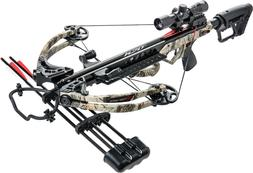 Bear X Karnage Apocalypse 370 Crossbow Package w Scope, Quiv